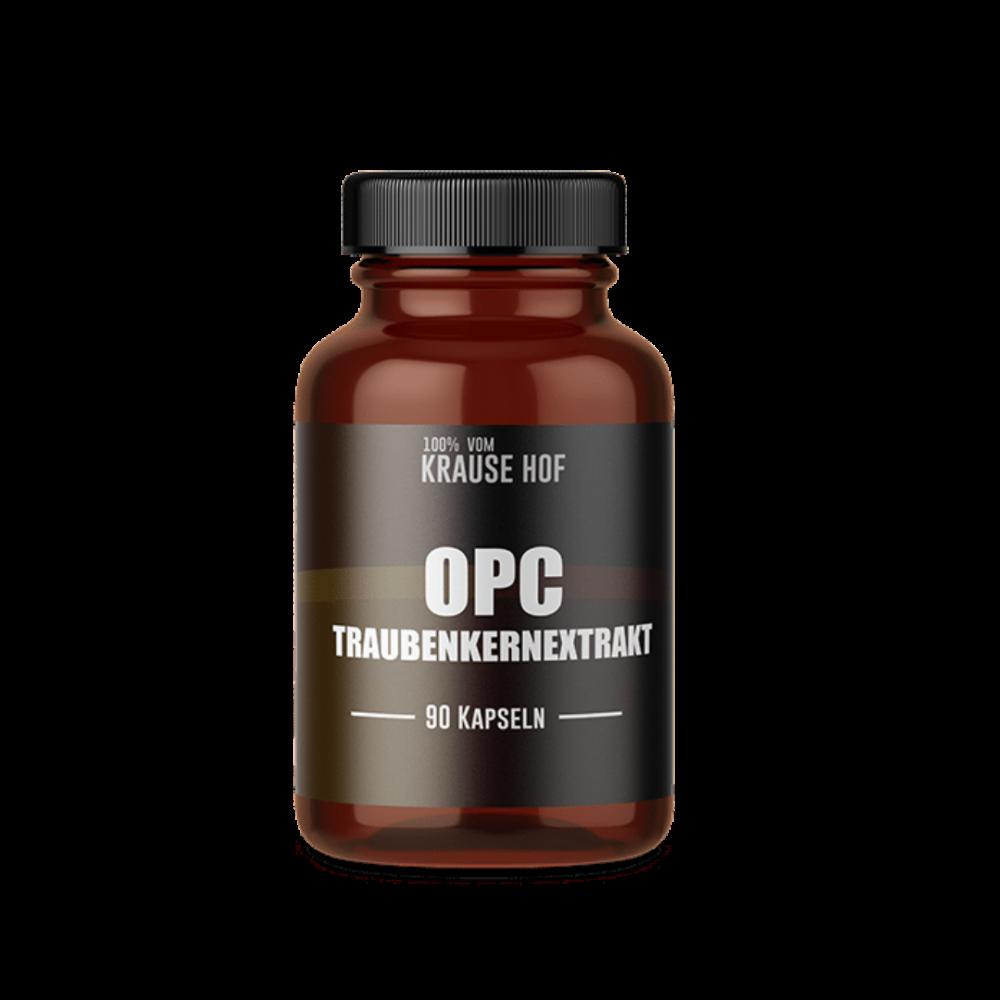 Krause Hof - OPC -Traubenkernextrakt Kapseln