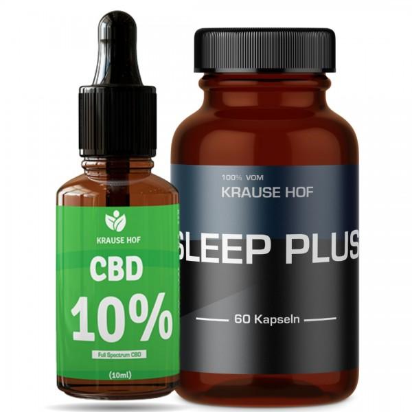 Krause Hof - Sleep Plus + CBD Öl 10%