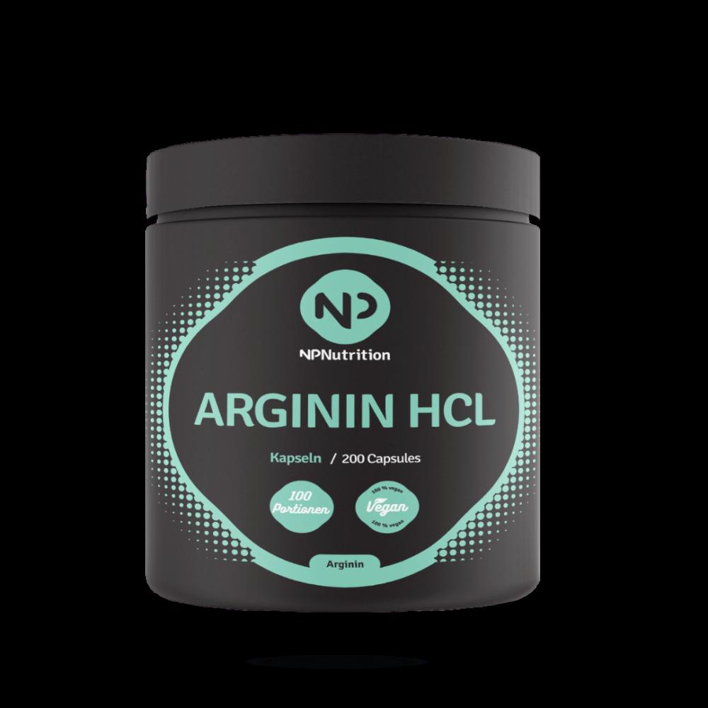 NP Nutrition - Arginin HCL Kapseln