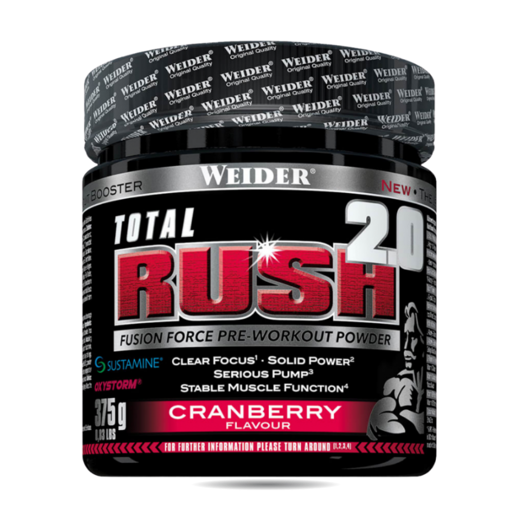 Weider - Pre-Workout Total Rush 2.0 (375g)