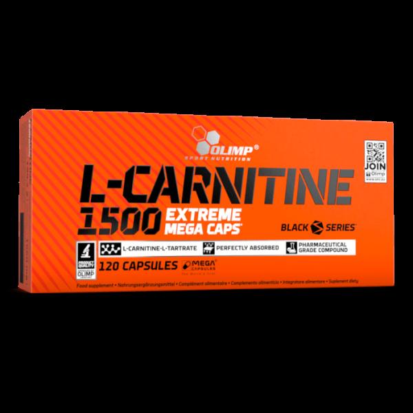 Olimp - L-Carnitine 1500 Extreme Mega Caps