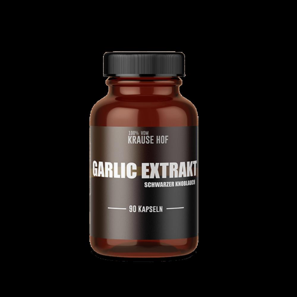 Krause Hof - Garlic Extrakt - Schwarzer Knoblauch Extrakt