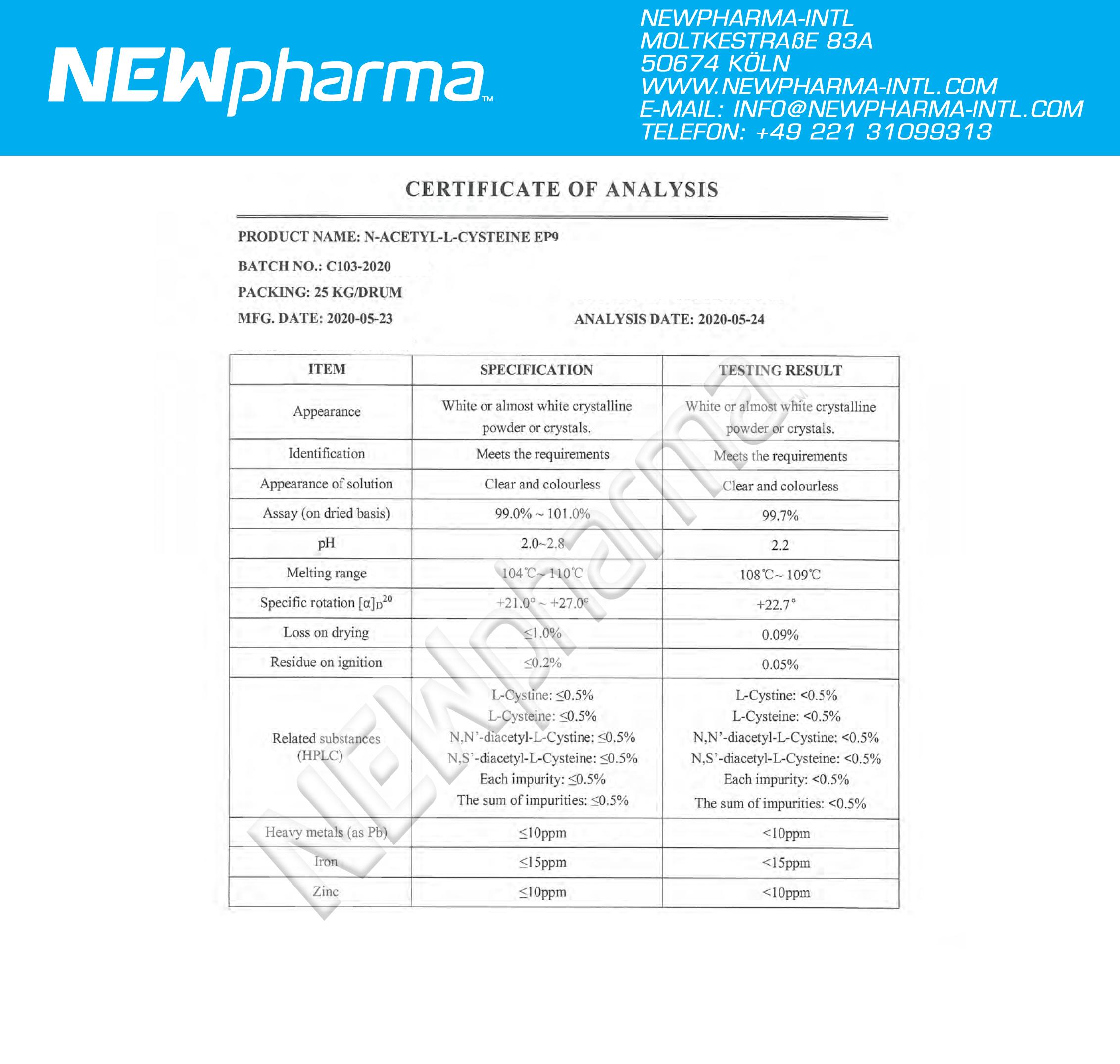 NEWPHARMA-LN-ACETYL-Cysteine-1
