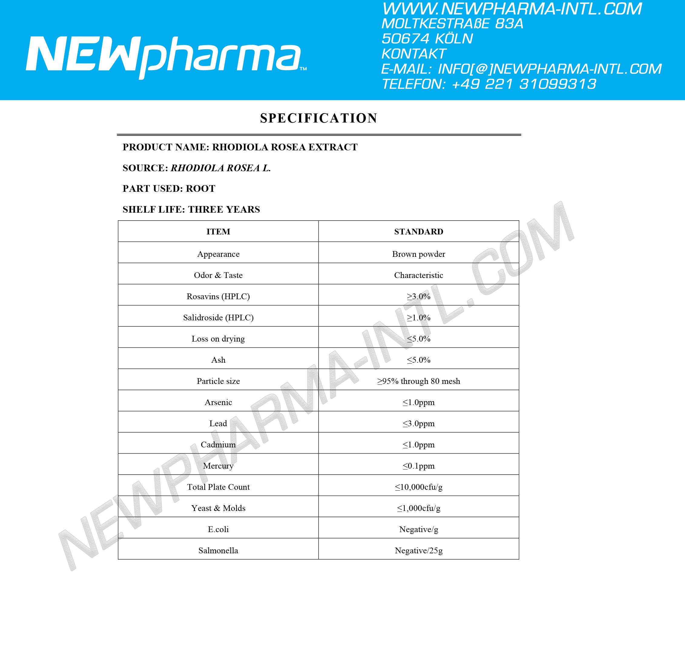 NEWPHARMA-Rhoiola-Extrakt