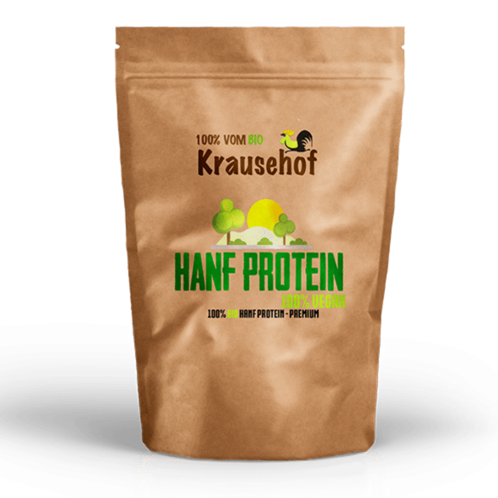 Krause Hof - Hanfprotein Pulver