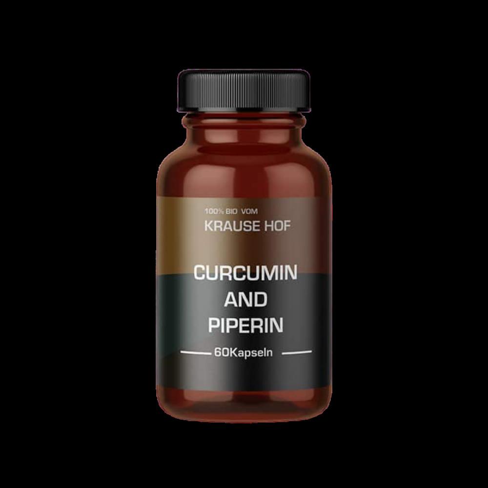 Krause Hof - Turmeric Curcumin + Piperin