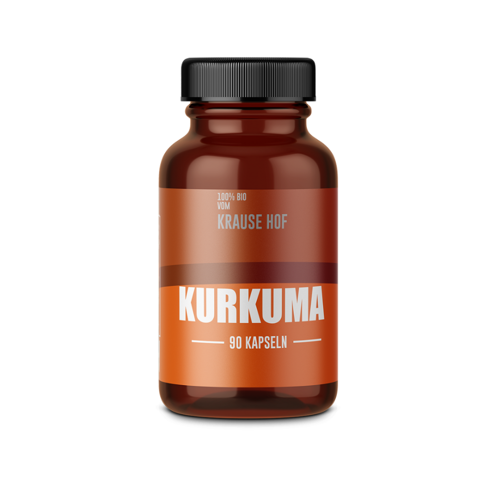 Krause Hof - Kurkuma Kapseln