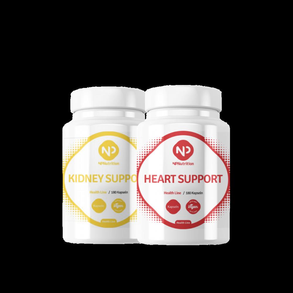 NP Nutrition - Kombipaket - Kidney + Heart Support