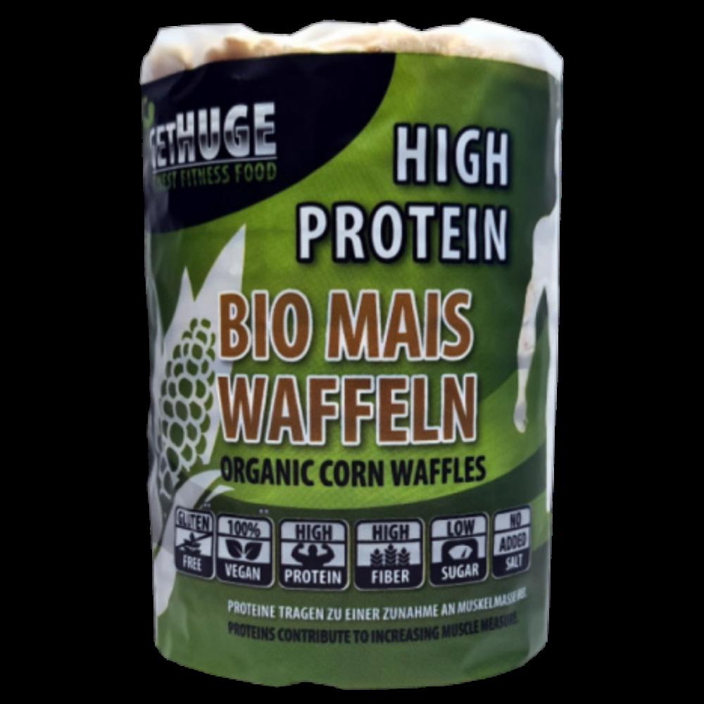 Get Huge - Bio Protein Maiswaffeln