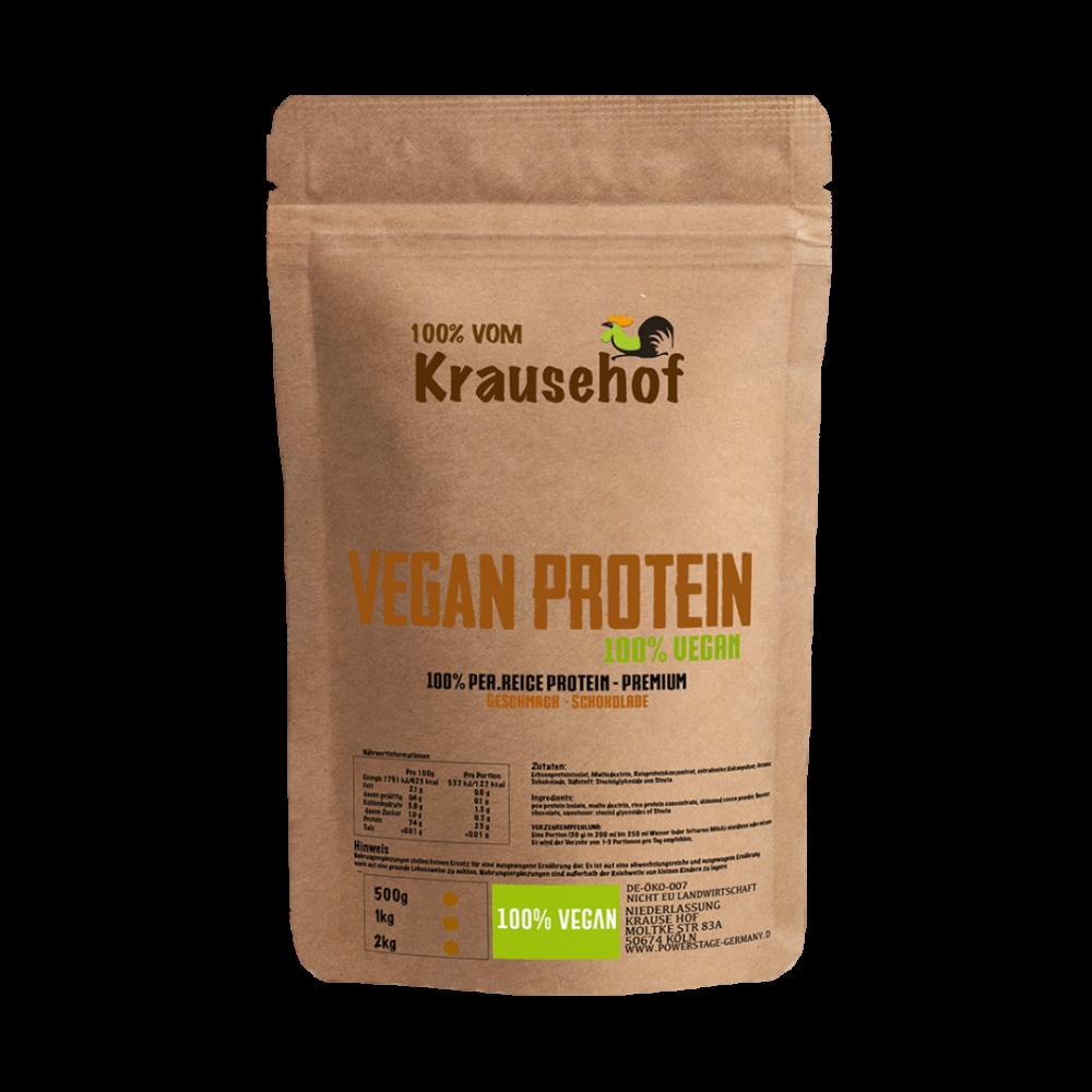 Krause Hof - Vegan Protein Schokolade