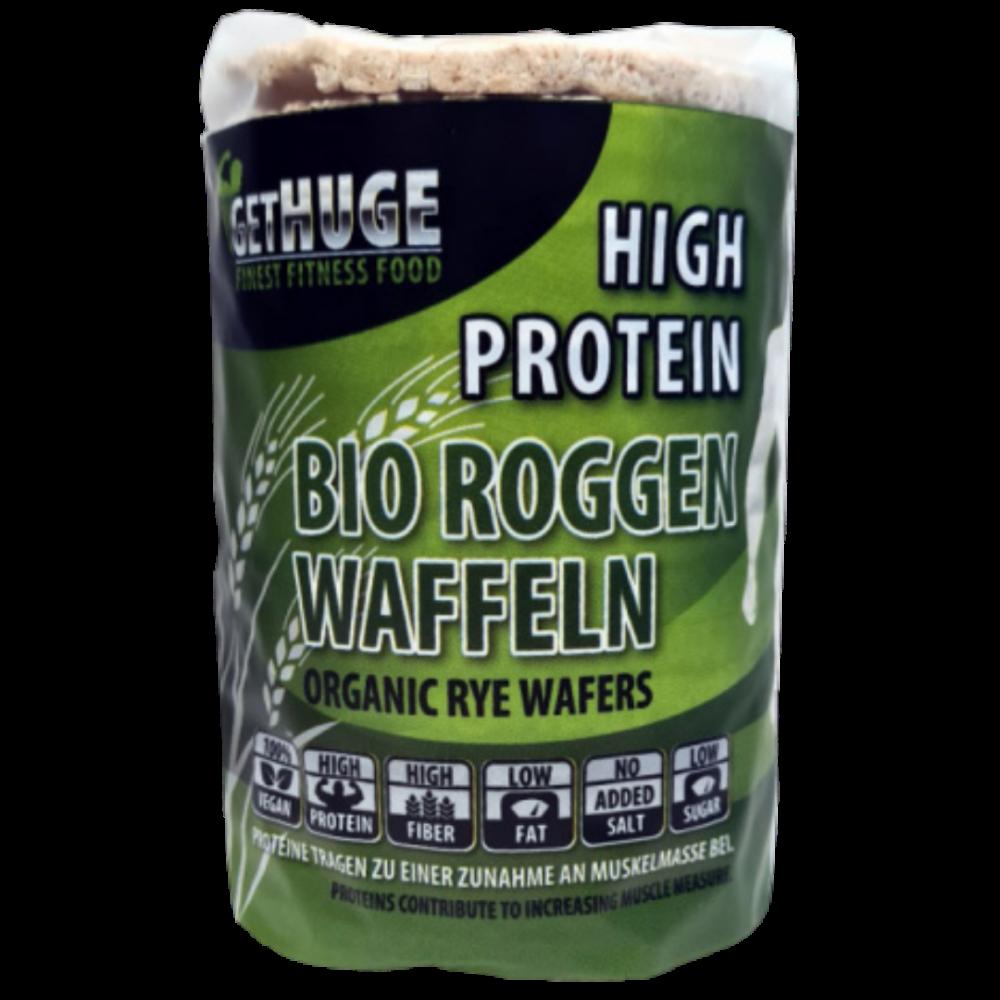 Get Huge - Bio Protein Roggenwaffeln