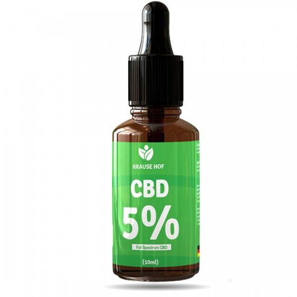Krause Hof- CBD Öl 5%