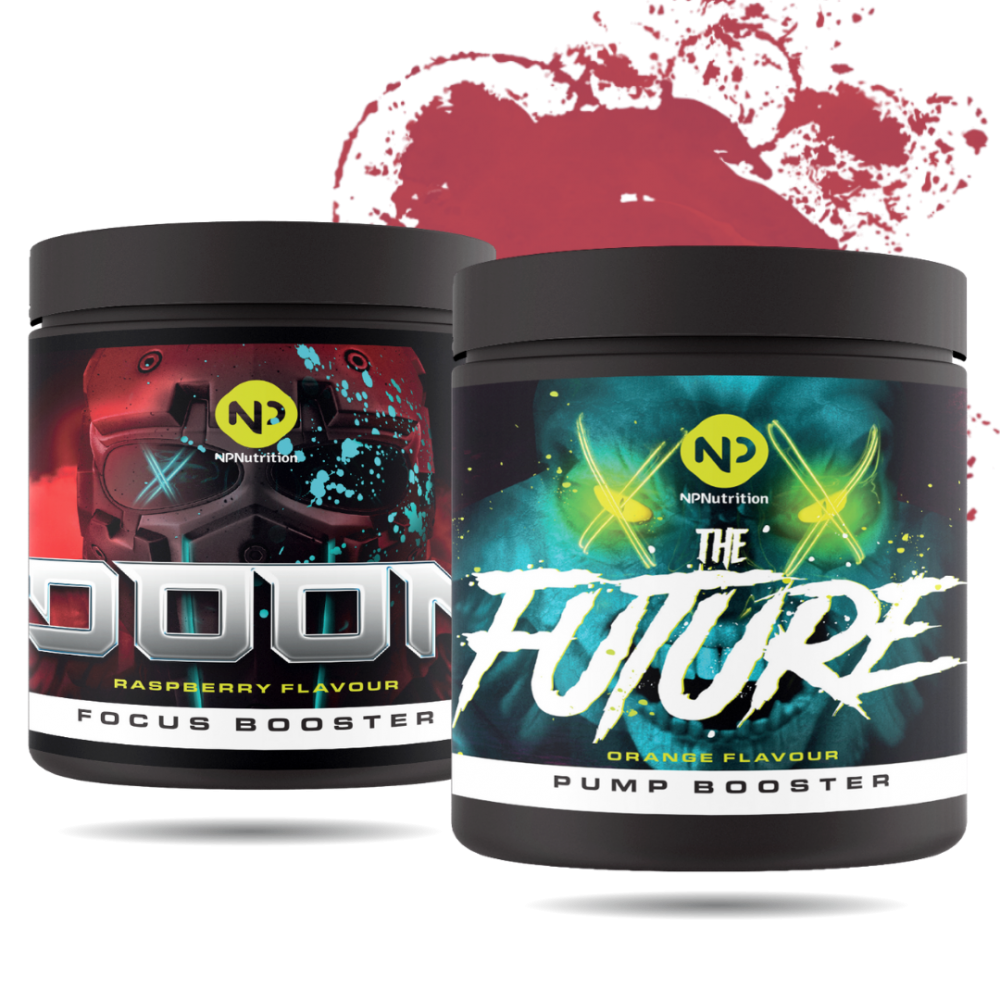 NP Nutrition - Pre Workout Paket - DOOM + FUTURE